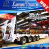 Heavy Duty 80t Excavator Transportation Low Bed Container Semi Truck Trailer