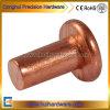 Red Coppr Solid Rivet, Flat Head Copper Rivet M2 M2.5 M3