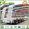 4 Axles Air Suspension Low Boy Semi Trailer
