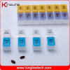 Plastic Pill Box with 14-Cases (KL-9029)