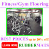 Non-Toxic Safety Recycle Rubber Colorful Mat Gym Fitness Floor