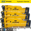 Quality Reliable Hydraulic Excavator Rock Hammer Breaker with Chisel 155mm