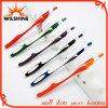 Popular Slim Promotional Plastic Ball Pen for Hotel (BP0248)