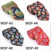 Fashionable 100% Silk /Polyester Printed Tie Wsp-43