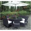Rattan Outdoor Garden Leisure Modern Patio Dining Table