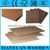 Dark Brown 2.5mm / 2.7mm / 3.0mm Hardboard 4X8 with Smooth Surface and Rough Back