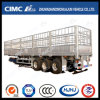Cimc Huajn Lightweight 3 Axles Aluminium Alloy Cargo Stake Semi-Trailer