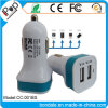 Car Charger Adaptor Bullet Dual USB 2 Port for USB Port Device