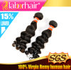 7A Peruvian Unprocessed Deep Wave 100% Human Hair Extension Lbh 167