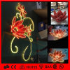 China Festival Christmas 2D Street Flower Motif Light