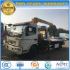 6 Wheels Wrecker Truck Mounted with Crane for Sale