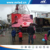 Stage or Event Media P10 Outdoor LED Display for Advertising