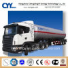 Chemical LNG Lox Lin Lar Fuel Tanker Semi Trailer