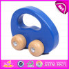 2015 Intelligent Toys Wooden Pull and Push Toy, New Design Wooden Dragging Car Toy, Top Quality DIY Toy Wooden Moving Toy W05b081
