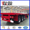40FT Flat Bed Model 3 Axles Trailer with Certification