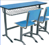 2 Seater Cheap School Desk and Chair