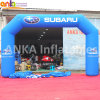 Guangzhou Supplier Outdoor Angled Arch Design Plain Color Inflatable Door Arch for Activity