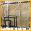 Building Mateiral Classical Mexico Yellow Onyx Slabs for Interior Wall