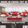 European Style Living Room Furniture Genuine Leather Sofa