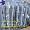 1.6mm Galvanised Wire 100 Spacing Wooden Spool Barb Wire