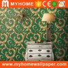Beautiful Flower Damask Wall Paper Wallpaper with PVC Waterproof