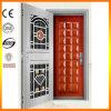 2017 New Design Twins Stainless Steel Door Foshan Factory