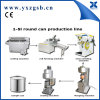 Automatic 1-5L Chemical Tin Can Making Machine Produciton Line
