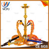Golden-Armor Hookah Shisha Waterpipe for Woyu