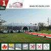 Movable Waterproof Mix Structure Transparent Tent for Product Promotion