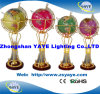 Yaye 18 Ce/RoHS 330mm Lighting Gemstone Globe/ World Globe/ English Globe for Home Decoration