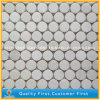 Natural Carrara White Marble Stone Wall Mosaic, White Mosaic Tiles
