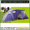 Outdoor Tourism Rain Protection Two-Room Family Camping Tent 6 Person