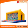 Inflatable Sport Game Soccer Goal with Inflatable Jumping Bed (T9-204)