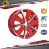 Fashionable Red Blue Gold Black Red&Blace Face Polish Alloy Wheel