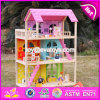 Wholesale 3 Layers Wooden American Girl Doll House Pretend Play Wooden American Girl Doll House for Sale W06A170