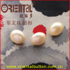 Half Round Ball Shape Imtation Pearl Button (H-221D)