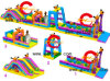2014 Latest Inflatable Obstacle Course/Inflatable Combo Inflatable Bouncy Obstacle
