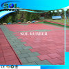 CE Certfiicated Outdoor Playground Floor Rubber Tile