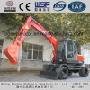 High Performance Baoding Bd80-8 Wheeled Excavators with Reasonable Prices