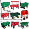 Factory Outlets Center Folding Metal Wheelbarrow Folding Trolley
