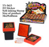 Funny 2D Sticker Self-Inking Stamp Toy
