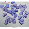 Light Purple Soft Fabric Heart Shape Confetti Marriage Bed Decoration