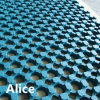 Outdoor Rubber Mat/Drainage Rubber Mat/Anti-Slip Floor Mat