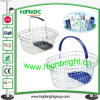 Round Wire Shopping Basket