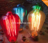 St64 Colorful Edison 40W Filament Light Bulb Antique Lamp From China