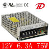 China Manufacturer of 75W 24V AC DC Converter (S-75W)