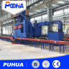 V Roller Conveyor Steel Pipe Shot Basting Machine