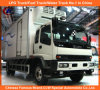 Isuzu 4*2 Refrigerated Van Truck
