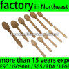 Wooden Yoghurt Spoon with Logo (WDC-160A/SPOON)