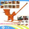 Hand Operated Manual Clay Interlock Brick Making Machine Qmr2-40